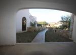 Veranda e giardino fronte
